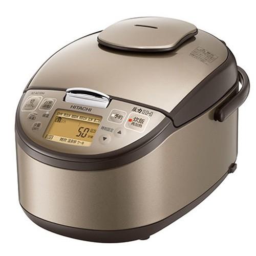 日立 圧力IH炊飯器 黒厚鉄釜 RZ-AG10M-T ライトブ...