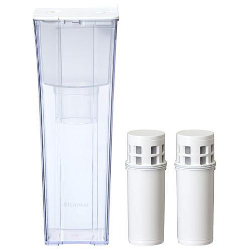 三菱レイヨン ポット型浄水器 クリンスイ CP012W-...