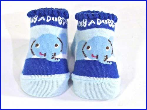 fb68eeb3d1177 新生児 ベビー カップボーダーソックス(靴下)・ブルー (2019-51)の通販 ...