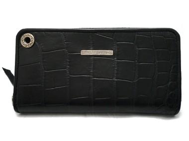 ec199b063e7b Bill Wall Leather/ビルウォールレザー ミディアムサイズ WALLETS/ウォレット ZIPPER MATT ALLIGATOR (