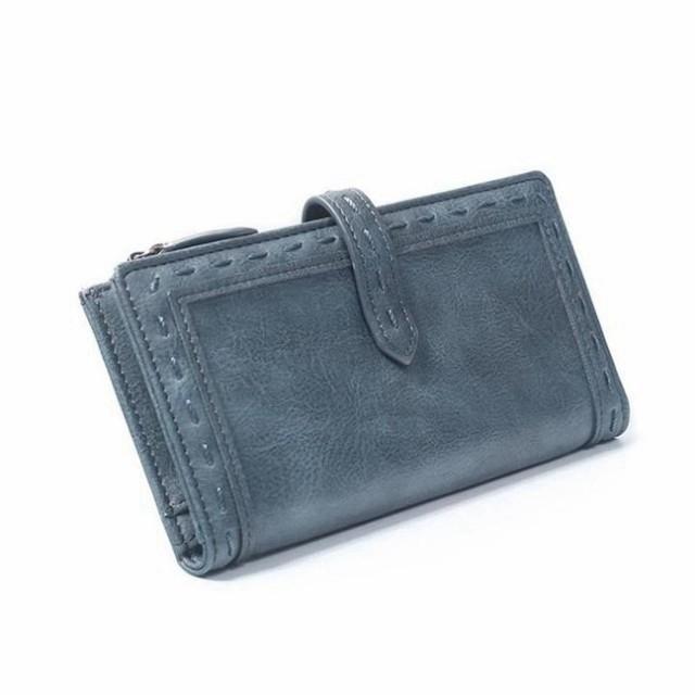 6accc6122f23 長財布 レディース 財布 女性用 かわいい 小銭入れあり ラウンドファスナー 春財布 運気 大人