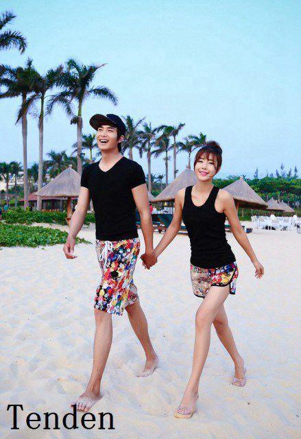 海外旅行 新婚旅行 サーフパンツ ビーチウェア ハーフパンツ メンズ ボードショーツ レディース 海水パンツ カラフル 水着 ボードショー