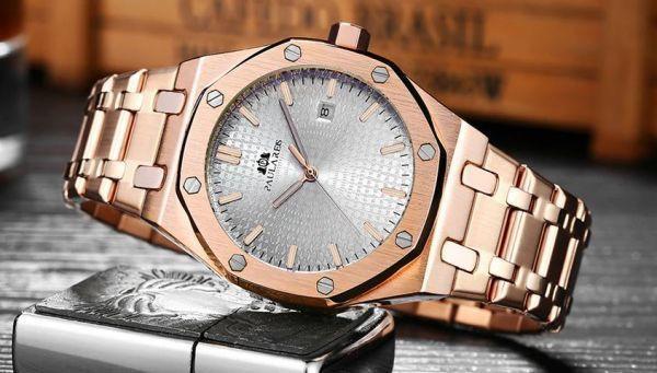 reputable site da6bf 19a03 メンズ 腕時計 機械式 高級腕時計 メンズ 自動巻 ステンレス ...