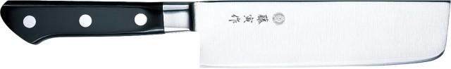 藤寅作 DP割込口金付 薄刃 165mm FU-502