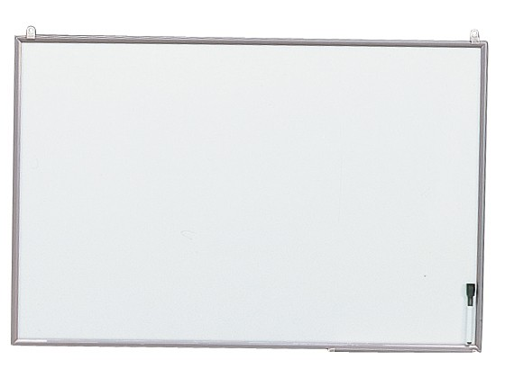 アイリス/アルミフレームホワイトボード 900*600mm シルバー/NWA-69