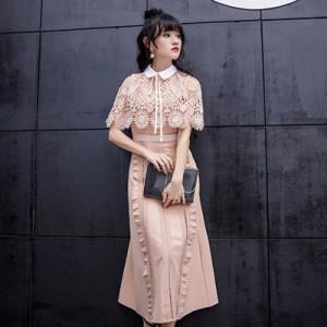 8661e609cdb3c 2色 エレガンス ワンピース ドレス レース ファッション パーティードレス 結婚式 ドレス お呼ばれ 二次会 同窓会 普段着