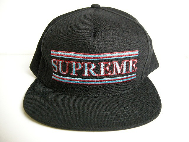 0d92e26b4e5 2016AW Supreme シュプリーム Stripes 5-Panel cap キャップ HAT