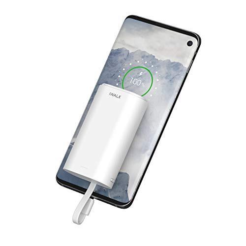 iWALK 9000mAh モバイルバッテリー 小型 USB-C ケ...