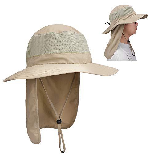 Magarrow アウトドア 日焼け防止 メンズアウトドアハット帽子 紫外線対策 超軽量 uvカット レディース 旅行 ・・・