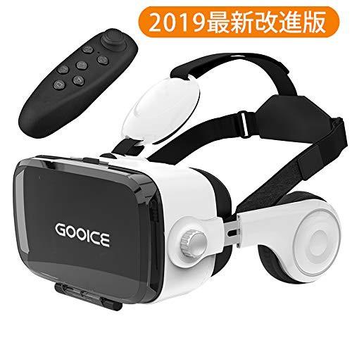 「2019最新」Gooice 3D VRゴーグル Bluetooth リ...