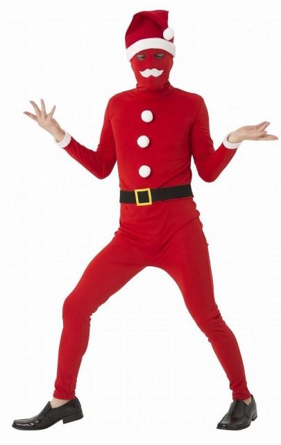 イケイケサンタタイツ クリスマス コスプレ コスチューム 衣装 仮装 サンタクロース サンタ コスプレ トナカイ メンズ(代引不