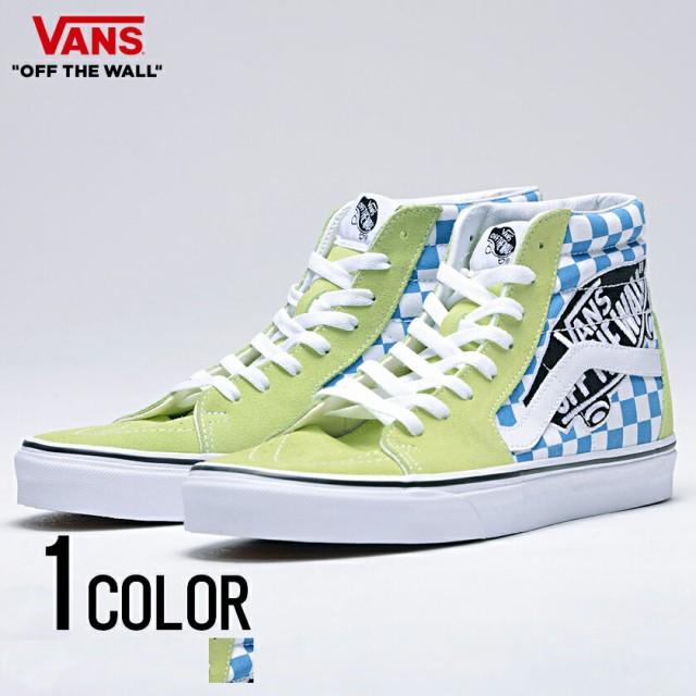dfafcac851 vans スニーカー メンズ ハイカット VANS バンズ Ua Sk8-Hi Vans Patch Sharp Green True White
