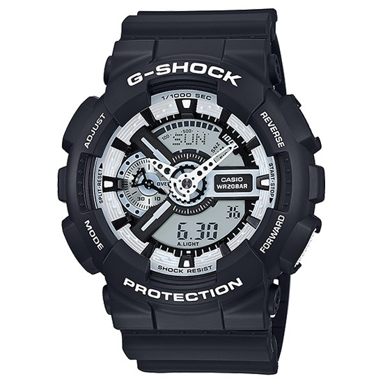 7897f77cf44af CASIO カシオ G-SHOCK メンズ アナデジ アナログ デジタル 腕時計 White and Black Series GA-