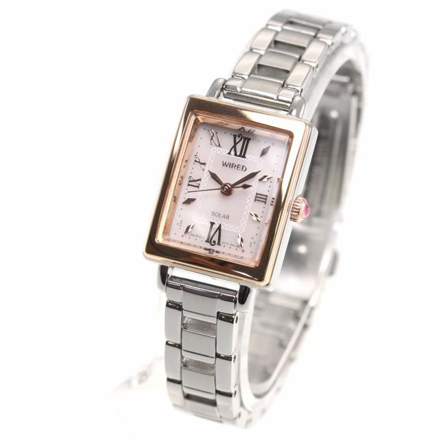 c24f71b9e8 ワイアード エフ WIRED f ソーラー 腕時計 レディース AGED100 セイコー ...