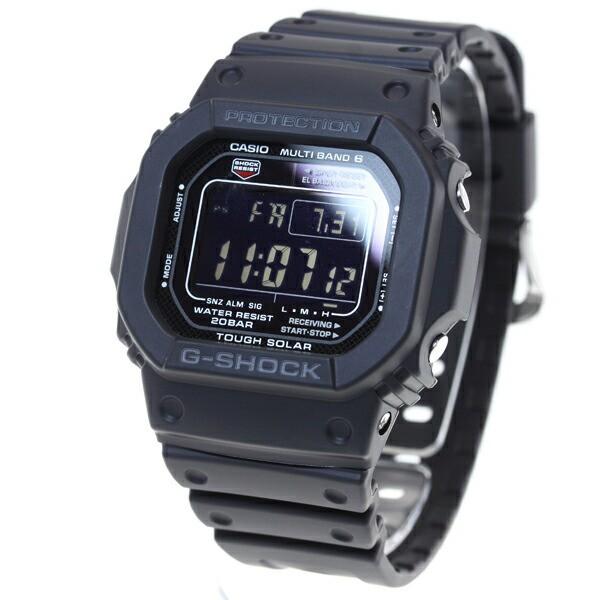 カシオ Gショック CASIO G-SHOCK 5600 電波 ソーラー 電波時計 腕時計 タフソーラー デジタル ブラック GW-M5610-1BJF