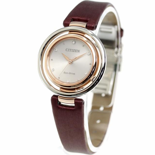 f0a7c54700 シチズン エル CITIZEN L エコドライブ 腕時計 レディース EM0669-21Xの ...