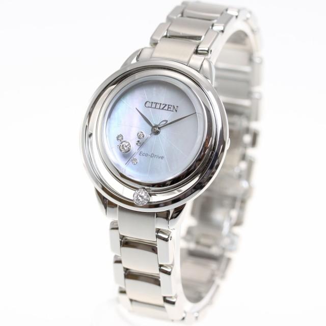 d3a41ce64e シチズン エル CITIZEN L エコドライブ 腕時計 レディース EW5521-81Dの ...