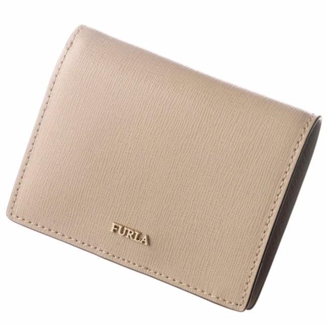 purchase cheap 7e0b6 2f8e3 フルラ FURLA 2019年春夏新作 財布 二つ折り バビロン ミニ財布 BABYLON ベージュ系 PBA3 B30 TUK