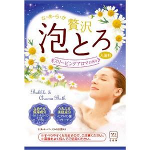 牛乳石鹸 お湯物語 贅沢泡とろ 入浴料 スリー...