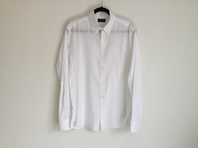 エポカ EPOCA 長袖シャツ サイズ50 メンズ 白 ス...