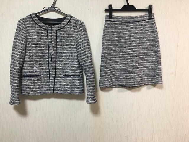 インディビ INDIVI スカートスーツ サイズ36 S レ...