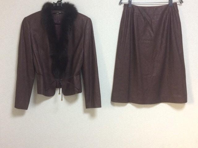 ダックス DAKS スカートスーツ サイズ11AR M レデ...