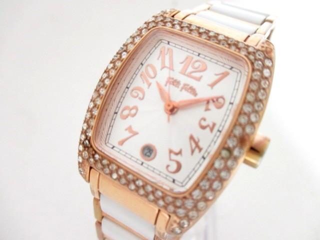 フォリフォリ FolliFollie 腕時計 WF5R135BD レデ...