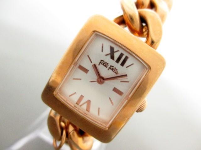 フォリフォリ FolliFollie 腕時計 WF6R026BPS レ...