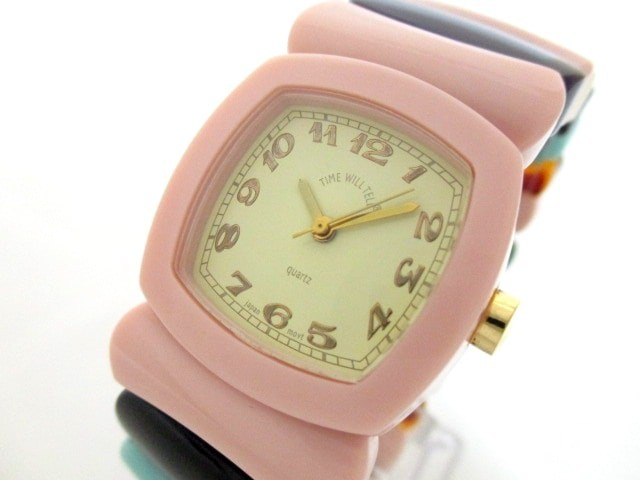 タイムウィルテル TIME WILL TELL 腕時計 美品 - ...