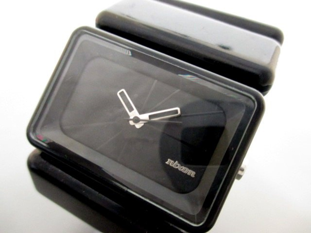 ニクソン NIXON 腕時計 - メンズ 黒【中古】