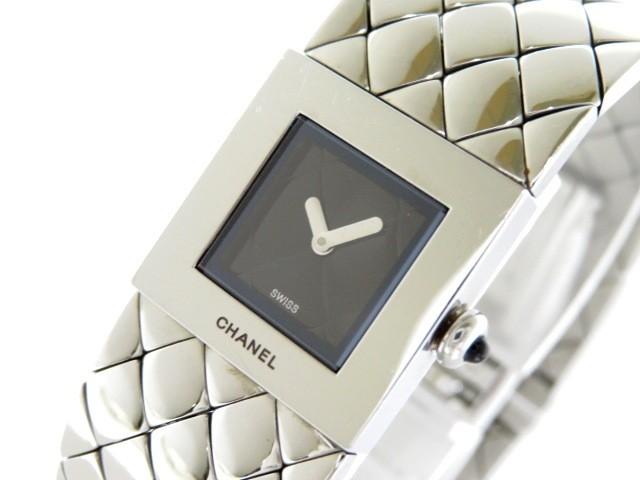 シャネル CHANEL 腕時計 マトラッセ H0009 レディ...