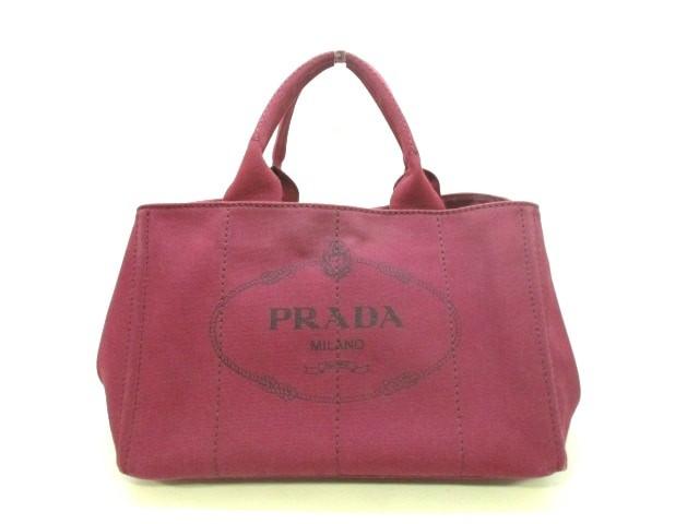 プラダ PRADA トートバッグ CANAPA BN2642 ボルド...