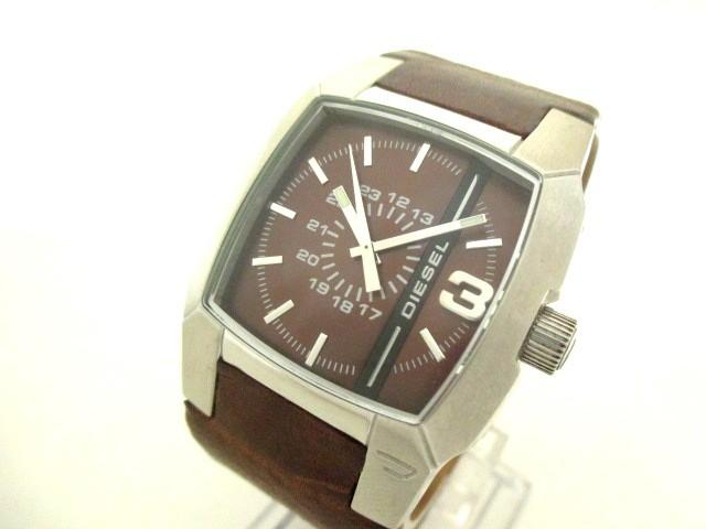 ディーゼル DIESEL 腕時計 DZ-1090 メンズ 革ベル...