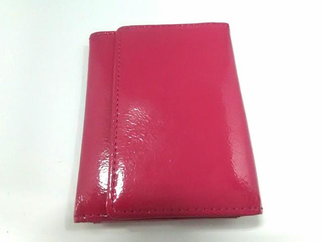 ベッカー BECKER カードケース ピンク エナメル(...
