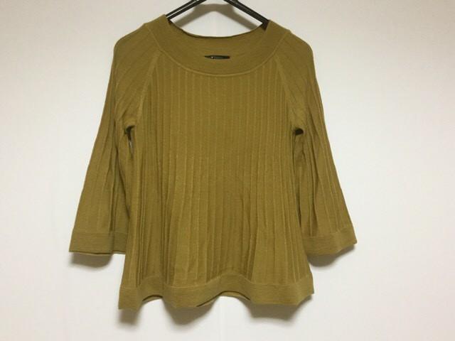 ニジュウサンク 23区 七分袖セーター サイズ38 M ...