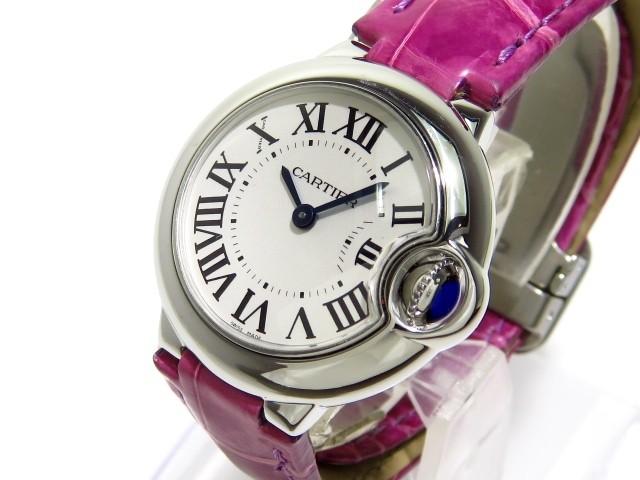 カルティエ Cartier 腕時計 バロンブルーSM W6901...