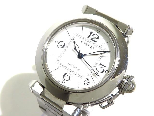 カルティエ Cartier 腕時計 パシャCスモールデイ...