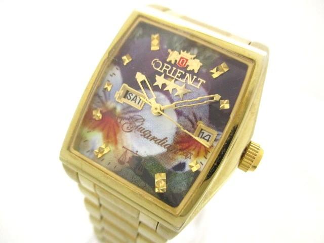 オリエント ORIENT 腕時計 スリースター NQAC-N3 ...