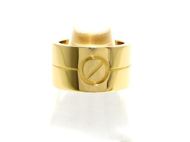 カルティエ Cartier リング 50 レディース 美品 ...