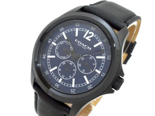 コーチ COACH 腕時計 美品 CA.94.2.95.1195 メン...