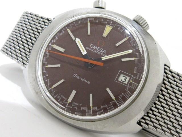 オメガ OMEGA 腕時計 クロノストップ - メンズ ド...