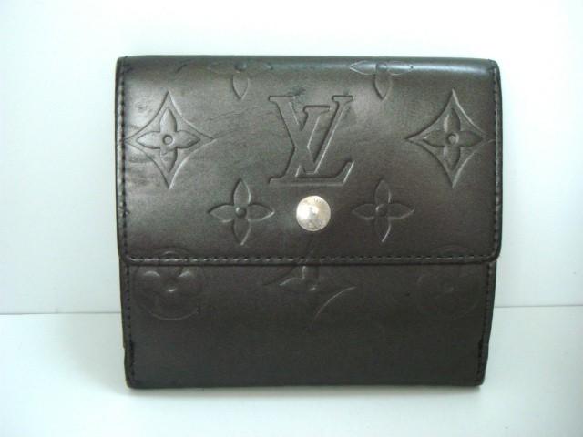 ルイヴィトン LOUIS VUITTON Wホック財布 モノグ...
