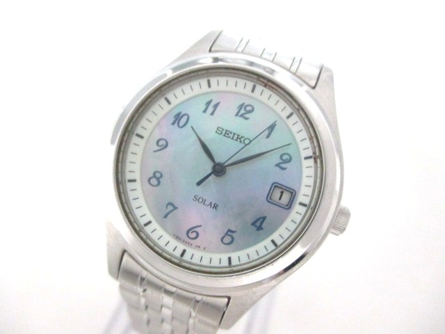 セイコー SEIKO 腕時計 V182-0AD0 レディース シ...