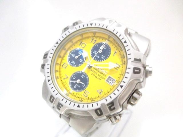 セイコー SEIKO 腕時計 美品 - 7T32-6K50 メンズ ...