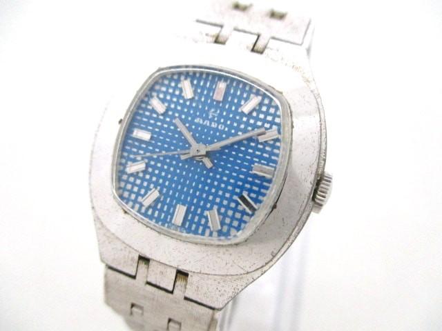 ラドー RADO 腕時計 333.7907.4 レディース ブル...
