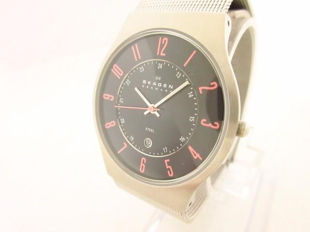 スカーゲン SKAGEN 腕時計 美品 J233XLSBP メンズ...
