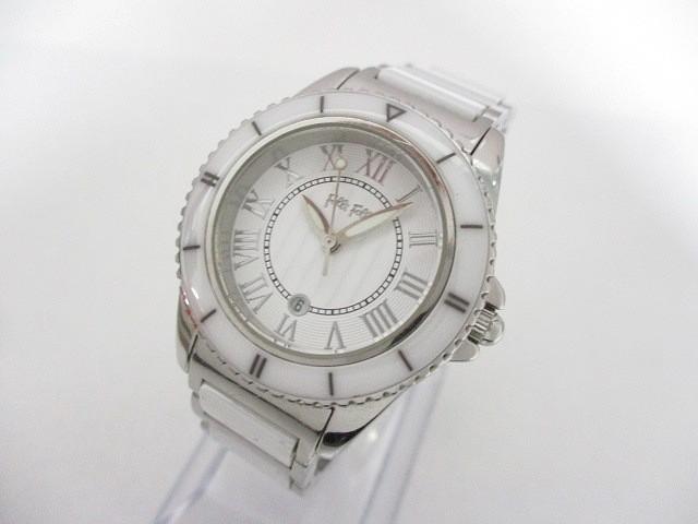 フォリフォリ FolliFollie 腕時計 WF6T069BD レデ...