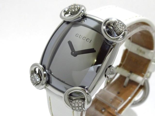 グッチ GUCCI 腕時計 美品 ホースビットカクテル ...