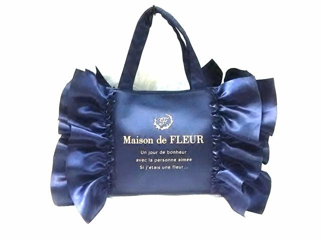 メゾンドフルール Maison de FLEUR トートバッグ ...