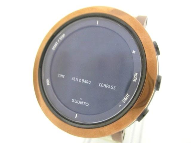 スント SUUNTO 腕時計 - メンズ 黒【中古】